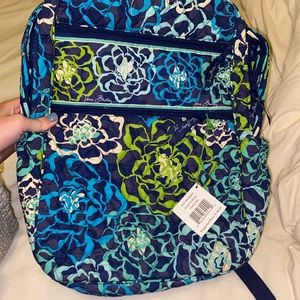 New with tags Vera Bradley backpack